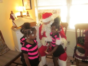 "Kiah said to her sisters"" This is the REAL Santa Claus!"