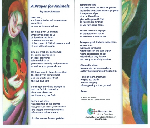 Prayer for Animals