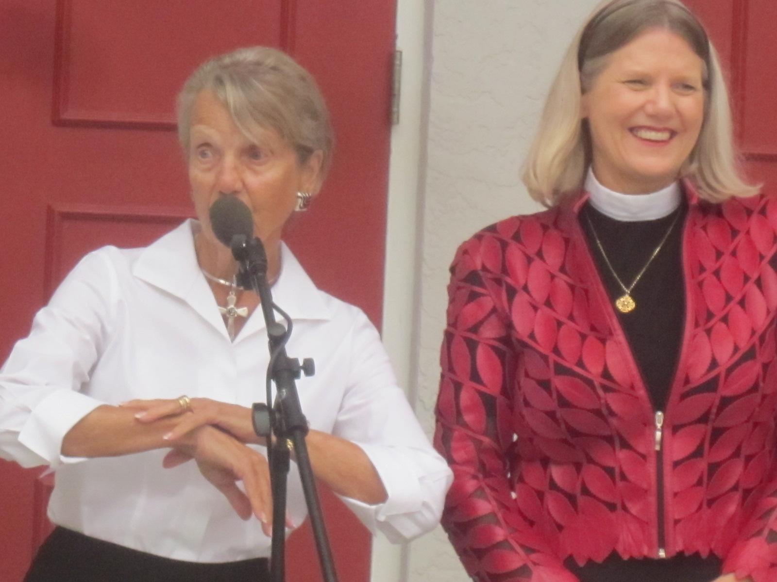 Rev  Becky Robbins-Penniman's Sermon For Pentecost: Just Breathe