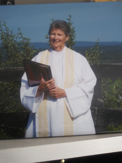 The God-Bearer: In Memoriam Pastor Judy Beaumont, Roman